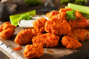 Boneless Bullwingers hors d'oeuvres package
